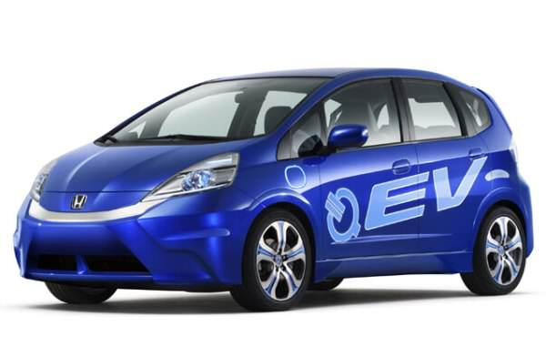 Electric Honda Fit