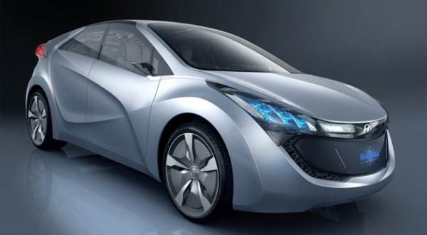 Hyundai Blue-Will Plugi-in hybrid concept