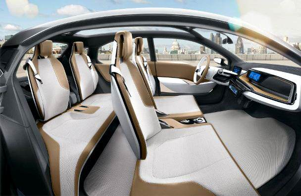 bmw i3 onbnoven interior