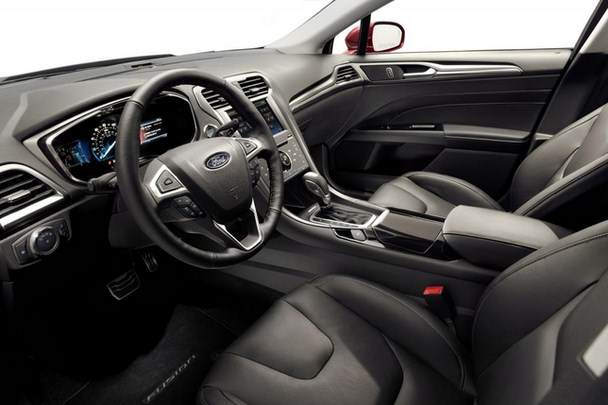 Ford Fusion Energy interior